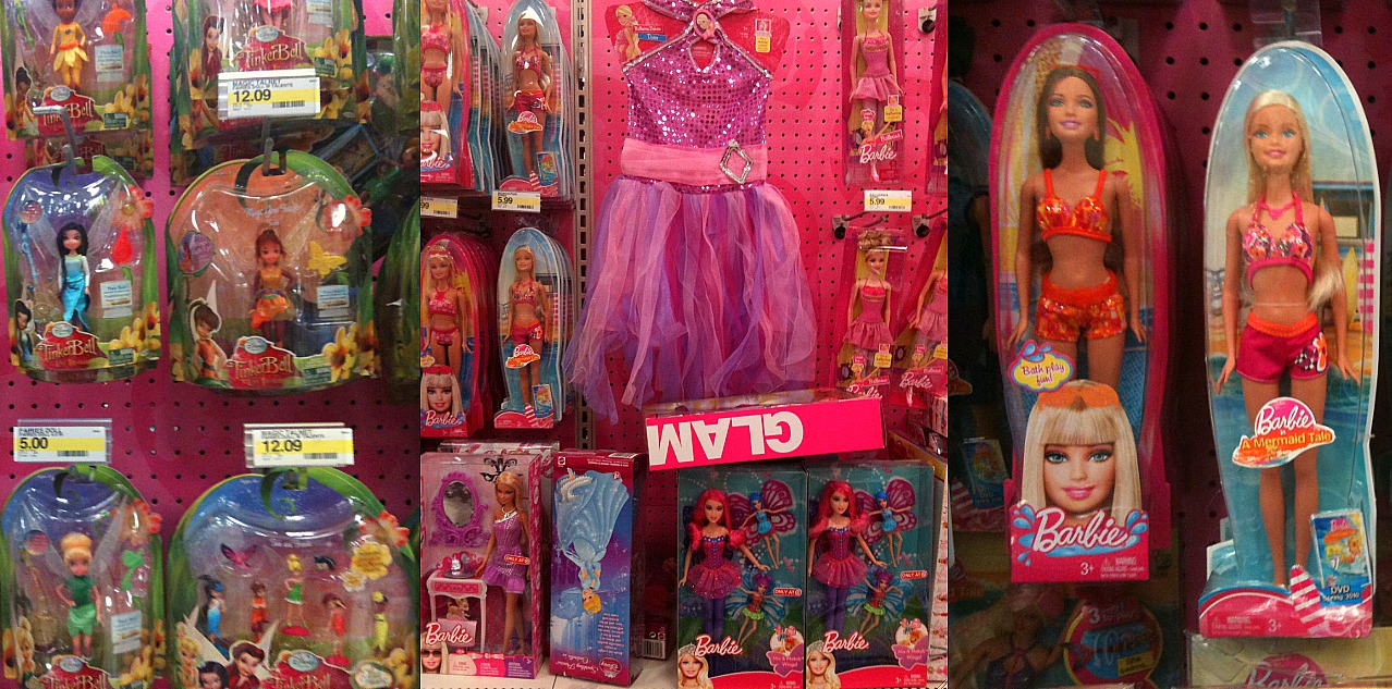 Disney Princess Names Toy Packaging and Pres...